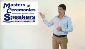 Presentador videos corporativos y de Formación