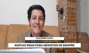 Guillermo casta Actor y presentador de eventos virtuales en Antena 3